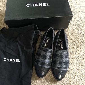 Chanel Loafers Size 36 new with box